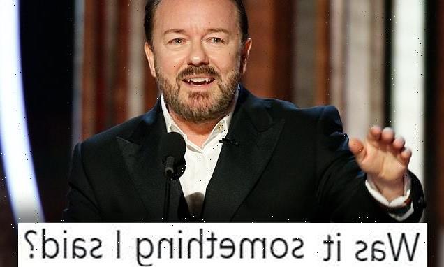 Ricky Gervais trolls 'host-less' Oscars on Twitter