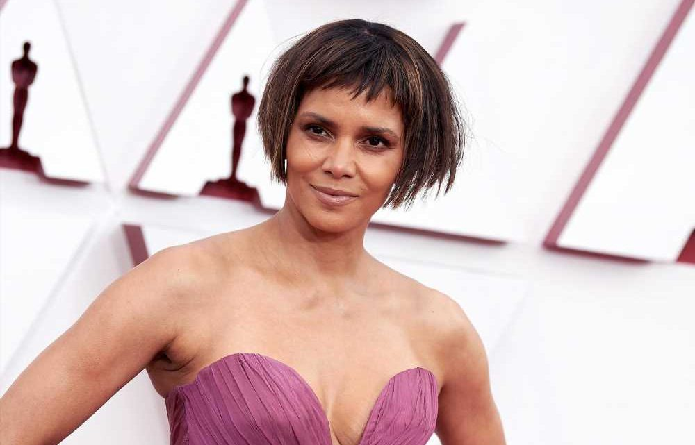 See Halle Berry's polarizing Oscars 2021 haircut from every angle