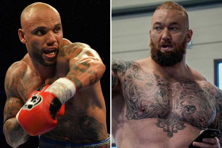 Simon Vallily wants to drag Game of Thrones star Hafthor Bjornsson into 'street fight' before Eddie Hall boxing bout