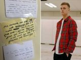 Singer told 'you're the problem' in war of 'petty' notes with neighbour over his 'annoying rapping'