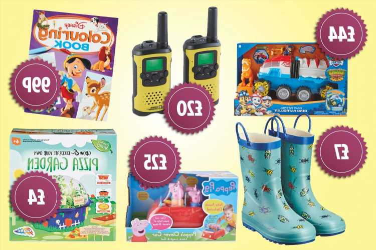 Six Aldi Specialbuys on sale today including Paw Patrol and Peppa Pig toys