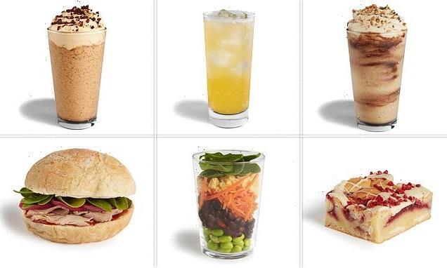 Starbucks reveal their new summer menu