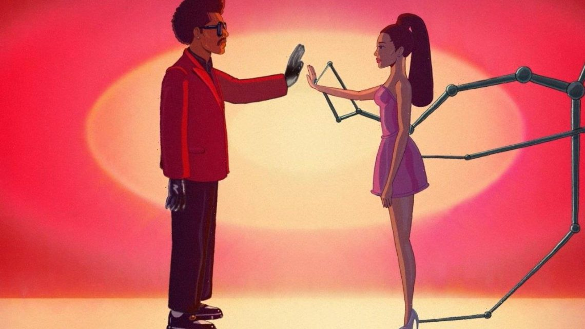 The Weeknd Releases Animated 'Save Your Tears' Remix Music Video Feat Ariana Grande