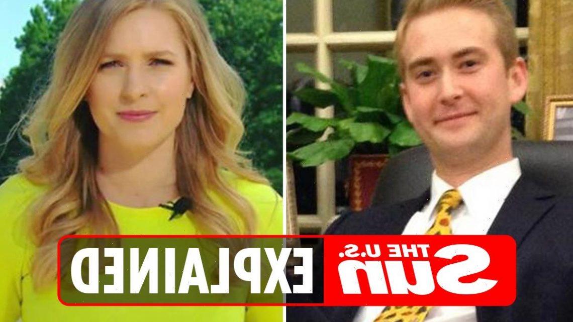 Who is Peter Doocy's wife Hillary Vaughn?