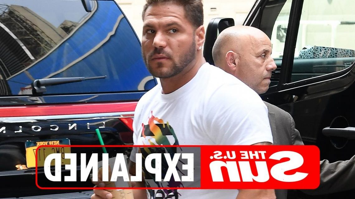 Why was Jersey Shore star Ronnie Ortiz-Magro arrested?