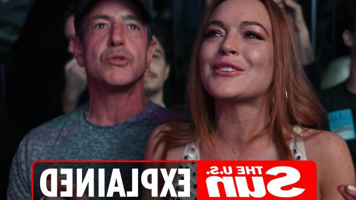 Why was Lindsay Lohan's father Michael arrested?