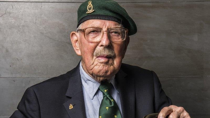Wilko of the inland, survivor at 100, to march on his own strong feet