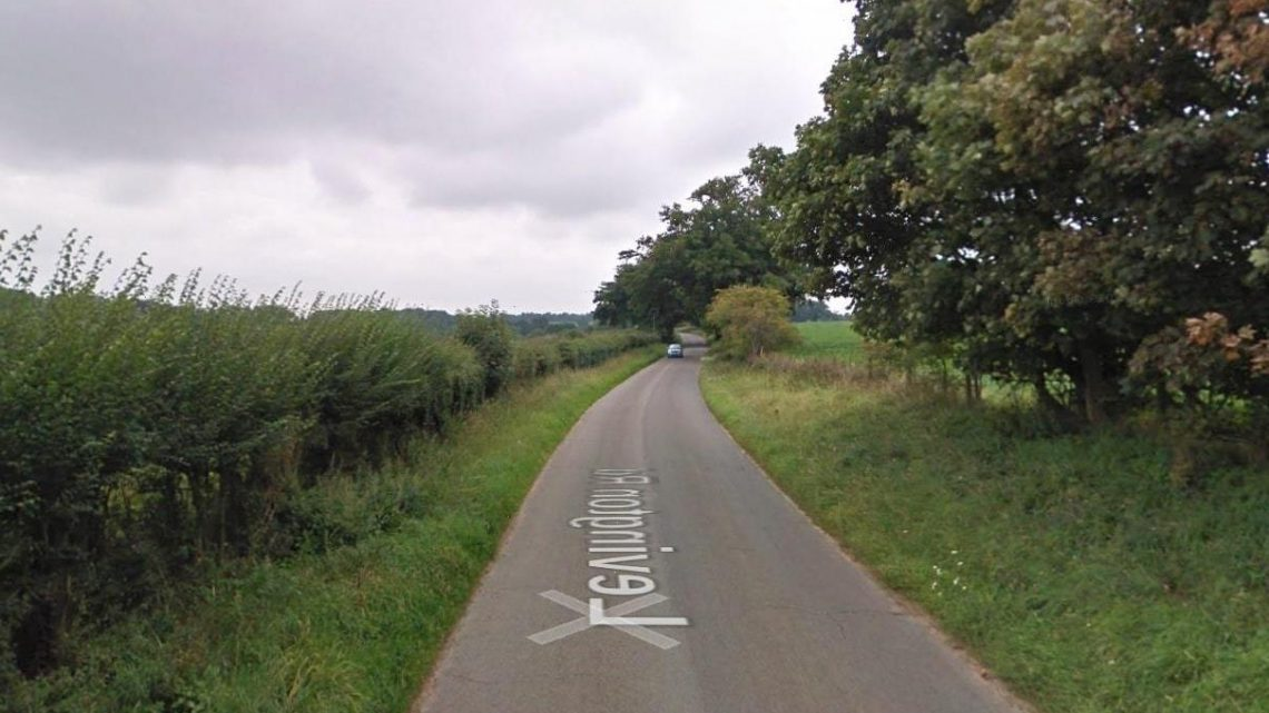 Woman fighting for life after being found with stab wounds in Suffolk village as man is arrested