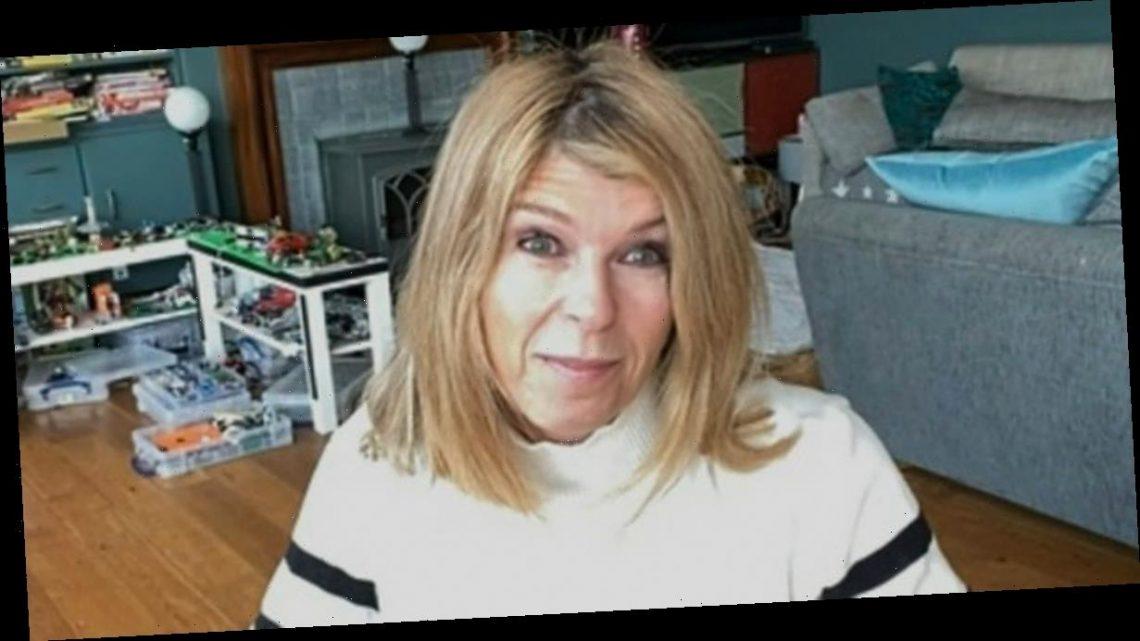 Kate Garraway's kids 'burst into tears' as husband Derek came home from hospital