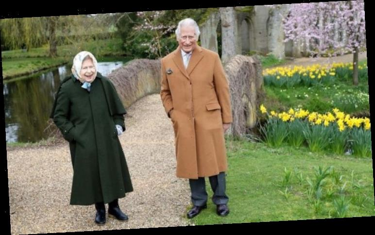 Queen and Prince Charles look 'sweet' but 'awkward' in latest Easter photos together