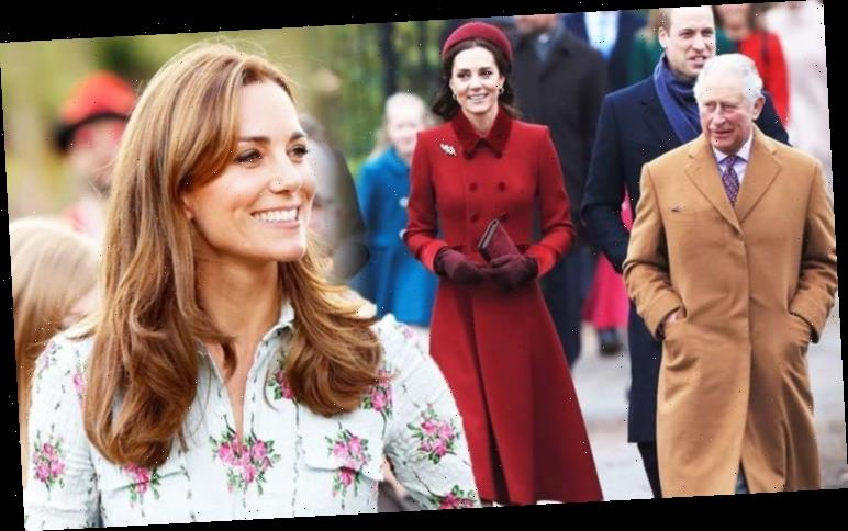 Kate Middleton body language with Prince Charles suggests she is 'exactly what he needed'