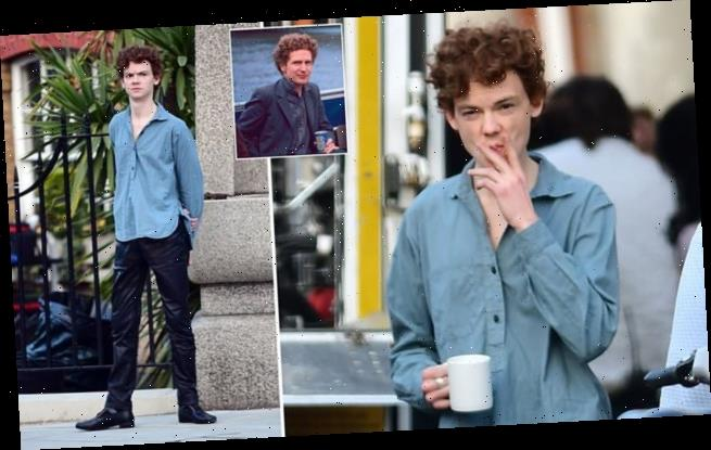 Thomas Brodie-Sangster transforms into Sex Pistols manager for filming