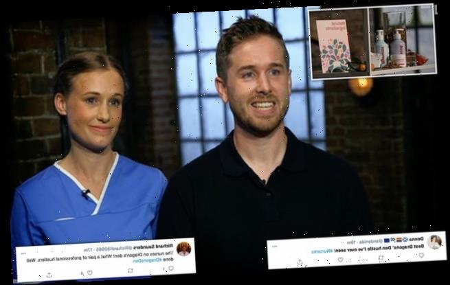 Dragons' Den: Couple had all dragons vying for share in company on