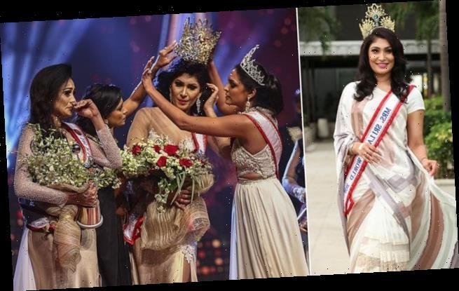 Mrs World ARRESTED after she yanked crown off new Mrs Sri Lanka