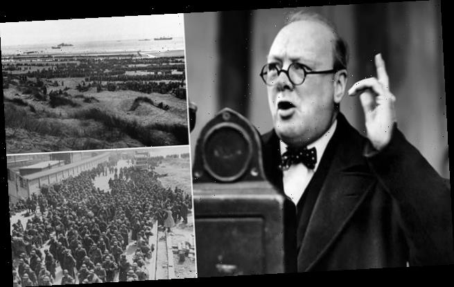 Winston Churchill's agony behind his iconic 'never surrender' speech