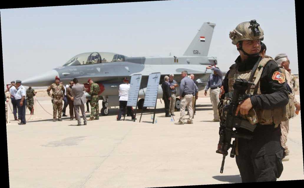 Rockets hit near Iraq base housing US trainers, no one hurt