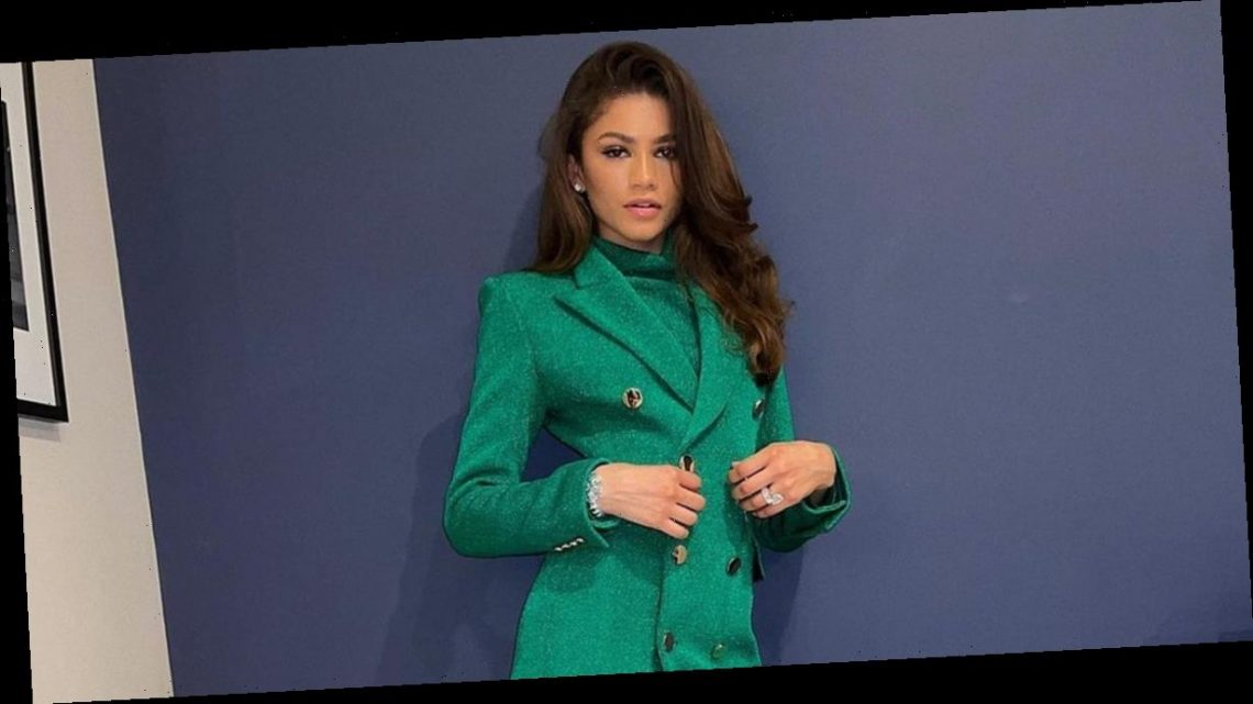 I'm Going to Need More Green in My Wardrobe After Seeing Zendaya's Emerald Mini Dress