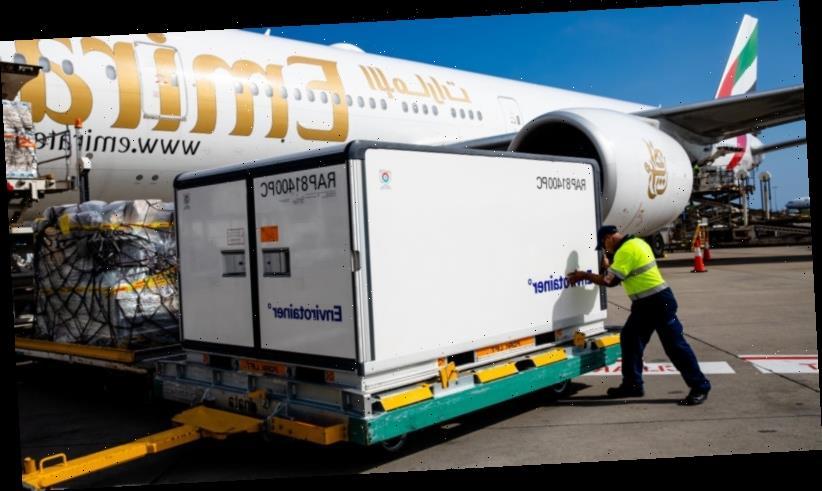 More than 700,000 AstraZeneca doses secretly flown to Australia from Britain