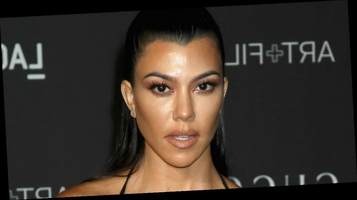 Kourtney Kardashian Is in Love and Her Heart-Shaped Cherry Manicure Is Proof