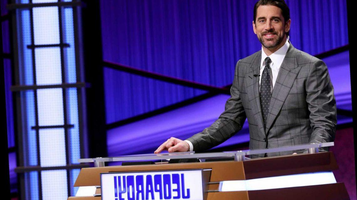 Aaron Rodgers is the 'Jeopardy!' host winner in my book