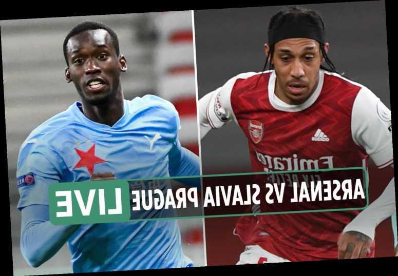 Arsenal vs Slavia Prague FREE: Live stream, TV channel, teams and kick-off time for Europa League tie