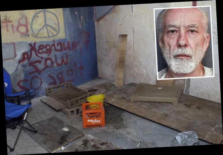 How serial rapist John Jamelske kidnapped girls and kept them in a concrete bunker under his garden for 15 years