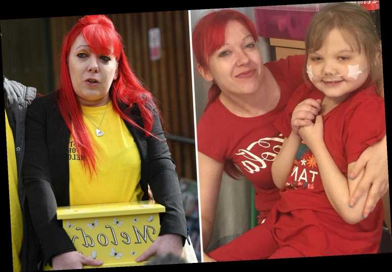 Mum of girl, 11, brings her ashes to inquest as 'she needed to be part of it' after claiming doctors let her die in pain