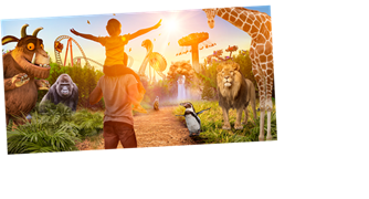 Chessington World of Adventures: Get two FREE tickets worth over £100 with Sun Superdays