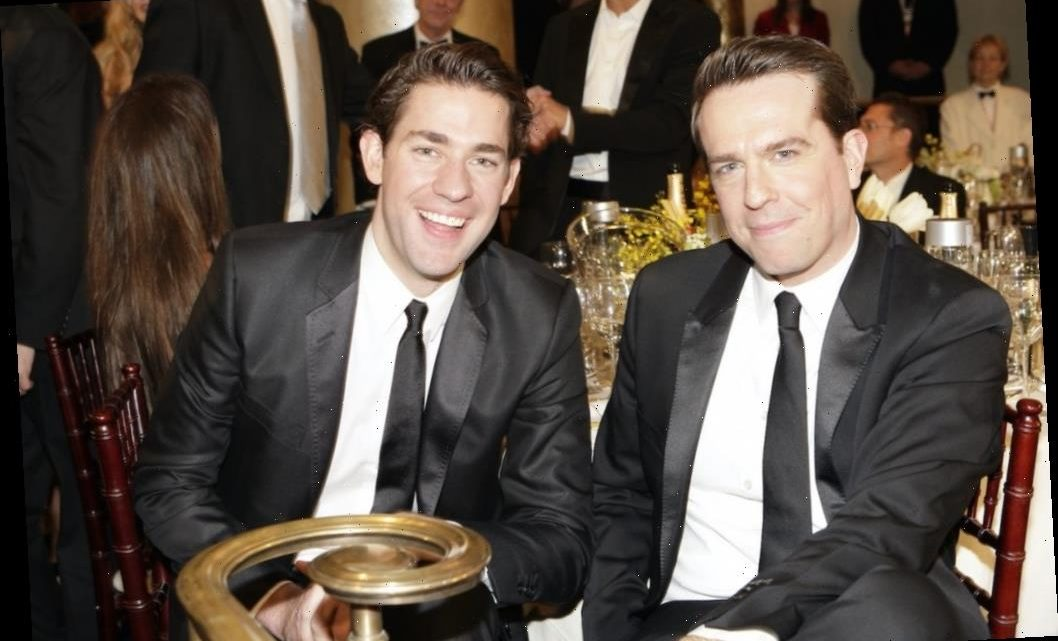 'The Office': The Hilarious Way John Krasinski Helped Relieve Ed Helms' Anxiety On Set