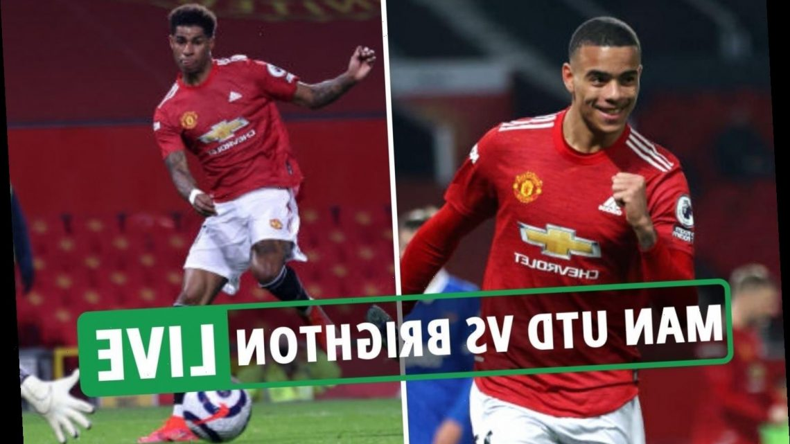 Man Utd 2 Brighton 1 LIVE RESULT: Greenwood gives United chance to win after Rashford goal – Stream FREE, TV channel