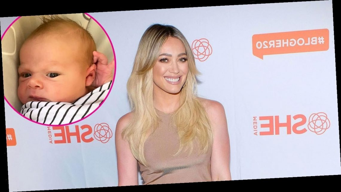 There She Is! Hilary Duff Introduces 1-Week-Old Daughter Mae