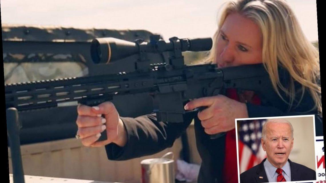 'QAnon Rep' Marjorie Taylor Greene slams Biden's gun control plan saying he has 'no power to infringe' on 2nd Amendment