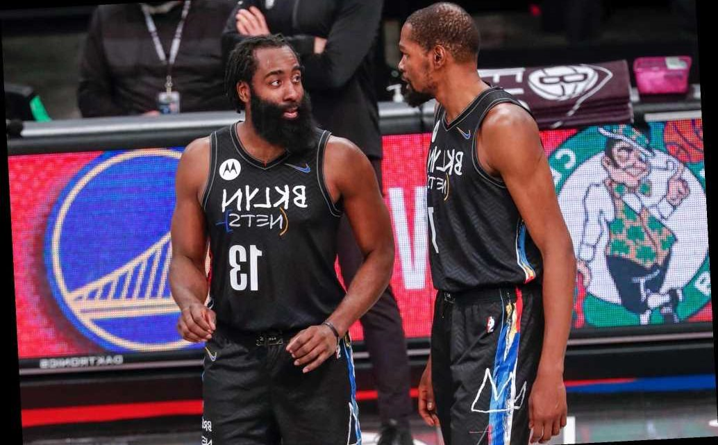 Kevin Durant still out for Nets as James Harden returns against Knicks