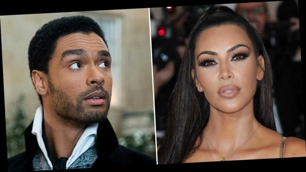 Say it Isn't So! Kim Kardashian Reacts to Rege-Jean Page's 'Bridgerton' Exit