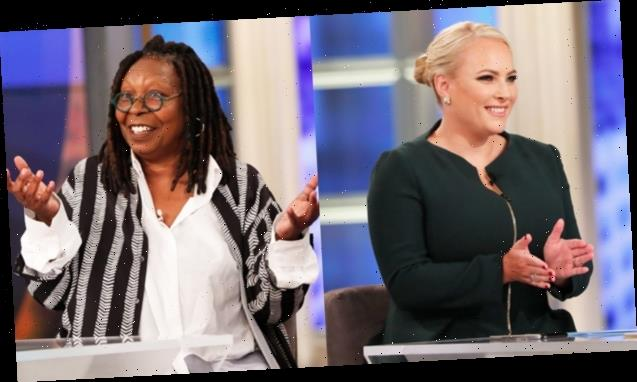 Meghan McCain & Whoopi Goldberg Bond Over Bodies Changing After Babies & Breastfeeding On 'The View'