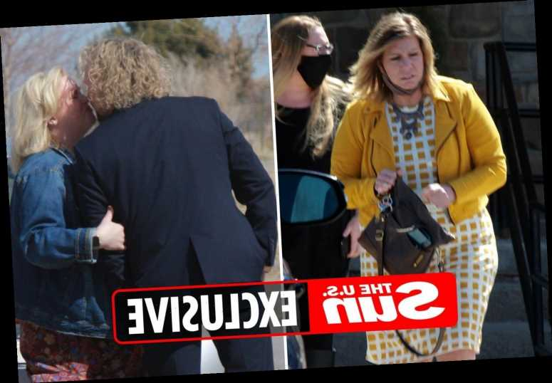 Sister Wives & Kody Brown gather for Meri's mom's funeral after 'unexpected death' but he kisses Janelle on sad day