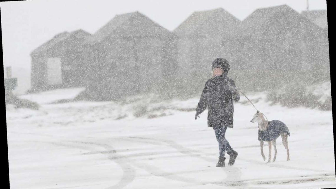 Snow warnings as blizzards batter parts of UK in -6C ice blast – and more on the way