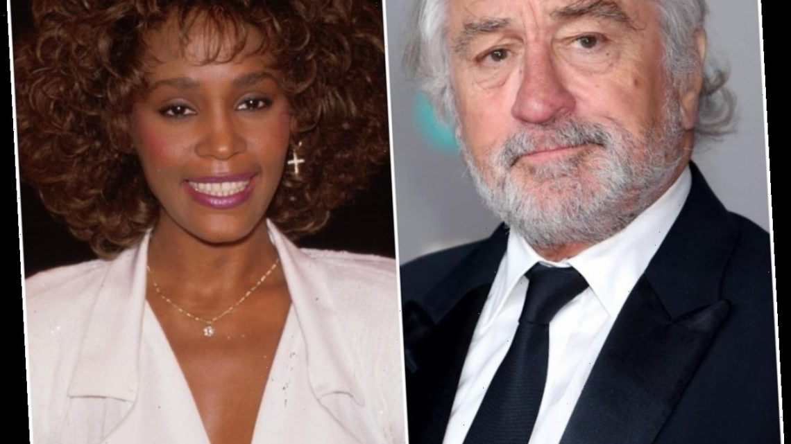 Robert De Niro Once Had a Major Crush on Whitney Houston, but the Feeling Wasn't Mutual