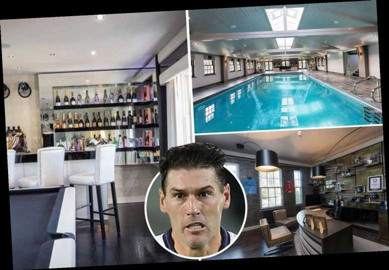 Ex-England star Gareth Barry's stunning home includes own aircraft hanger and has had priced slashed to £3.6million