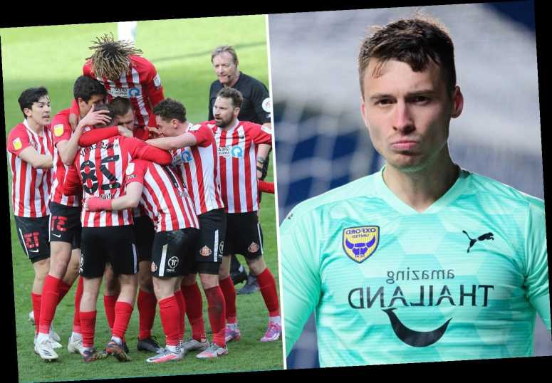 Oxford contact police as Sunderland staff member allegedly headbutts keeper Jack Stevens after fiery clash