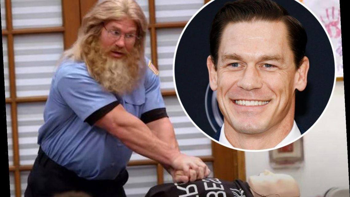How WWE icon John Cena's Nickelodeon cameo helped boy, 8, save his 20-month-old sister from choking on chicken nugget