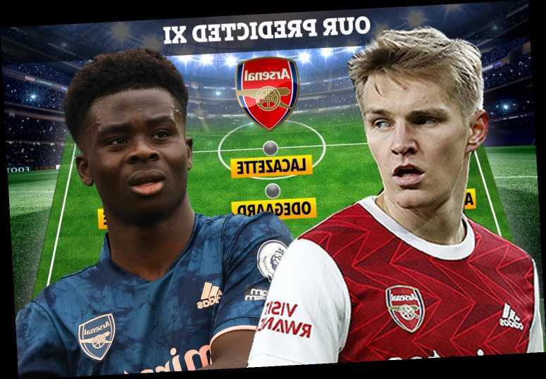 How Arsenal could line up against Liverpool with Bukayo Saka and Emile Smith Rowe injury doubts but Odegaard starting