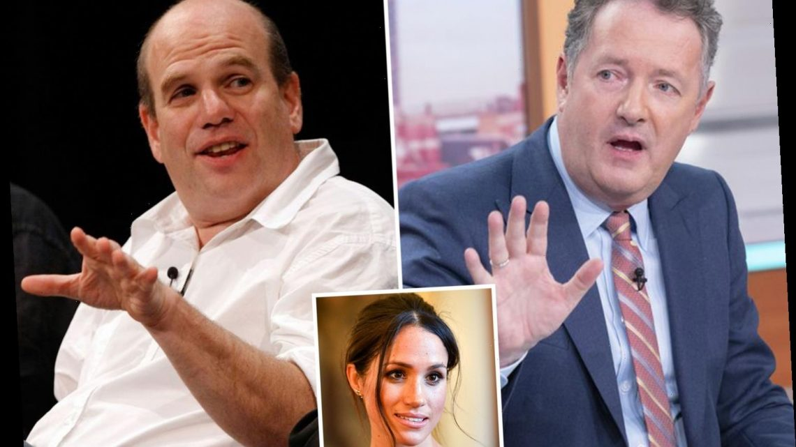 Piers Morgan in furious Twitter row with The Wire creator after explosive Meghan Markle interview