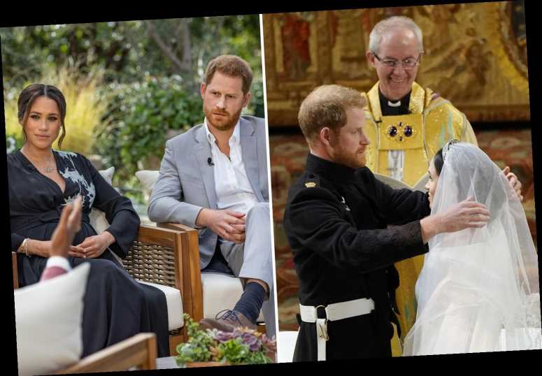 Archbishop of Canterbury says being in Royal Family is 'life without parole' and Harry will never escape 'celeb' status