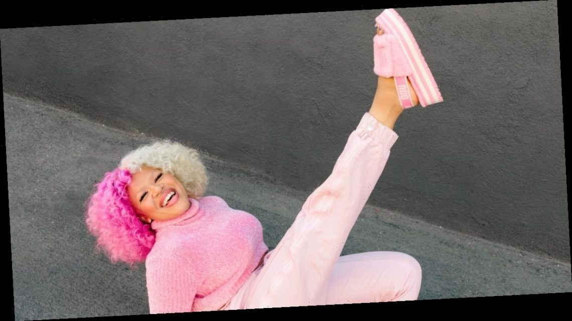 """UGG's Nostalgic """"Feel You"""" Campaign Makes Us Want to Slip into These Colorful Fluffy Slides"""