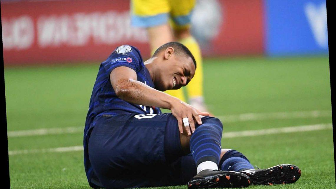 Man Utd striker Anthony Martial set to miss rest of season with knee injury in huge injury blow to Solskjaer