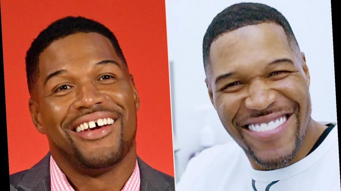 Michael Strahan Reveals His Teeth 'Gap Is Here to Stay' in April Fool's Day Prank