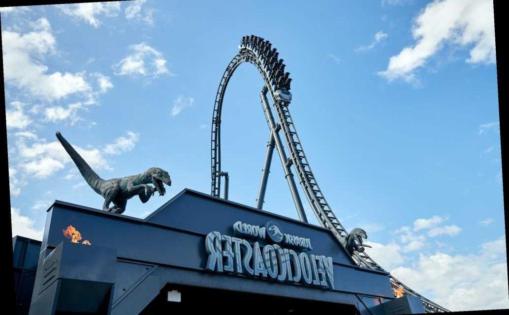 Jurassic World VelociCoaster Opening This Summer at Universal Orlando