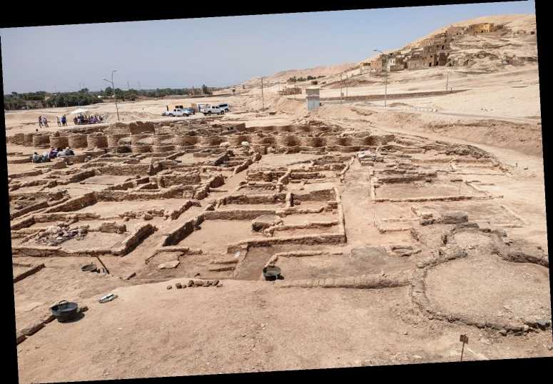 3,000-Year-Old Lost Golden City Is Discovered in 'Good Condition' in Egypt
