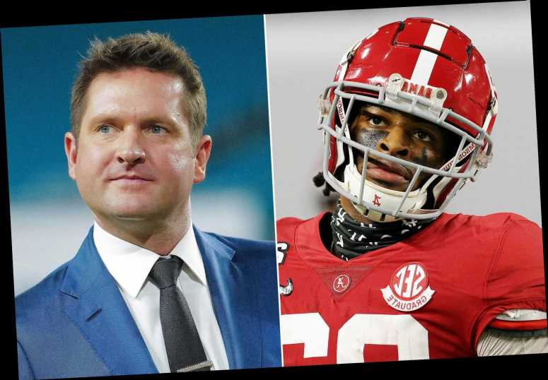 Najee Harris on NFL Draft critique: 'Todd McShay can kiss my a–'